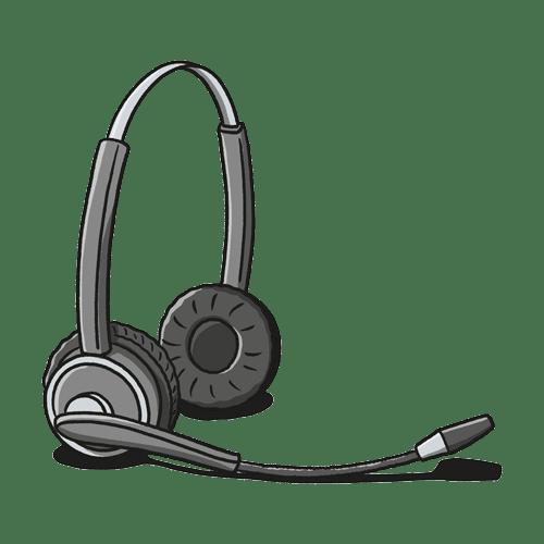 Illustration of Headset